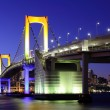 Tokyo Bay at night — Stock Photo #72406037