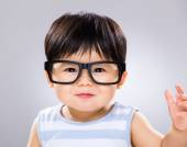 Asian cute little baby boy — Stock Photo