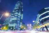 Panoráma města tokio v noci — Stock fotografie