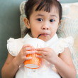 Cute little asian baby girl — Stock Photo #75365247
