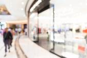 Shopping mall blurred background — Stock Photo