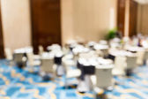 Blur view of the meeting room — Stockfoto