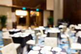 Abstract blurred conference hall — Stock Photo