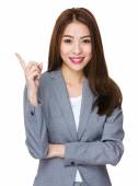 Young asian buisnesswoman in business suit — Stock Photo