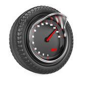 Rychloměr v pneumatice — ストック写真
