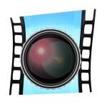 Lens and film frame — Stock Photo #52840057