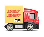 Delivery truck — Stock Photo