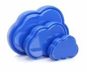 Grupa chmur — Zdjęcie stockowe