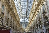 Italy, Milan  Vittorio's galleries of Emmanuil II. — Stock Photo