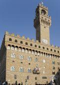 "Florence.  Palazzo Vecchio or ""Old Palace"" — Stock Photo"