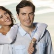 Woman with arm around man — Stock Photo #57269915
