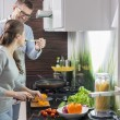 Man feeding food to woman — Stock Photo #57270969
