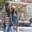 Man showing something to woman — Stock Photo #57272833