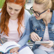 Women studying together — Stock Photo #57277247