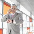 Businessman using smart phone — Stock Photo #57279013