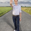 Man showing stop gesture — Stock Photo #57279377