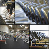 Equipment in gym — Photo