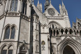 Royal Courts of Justice in London — Stock Photo