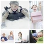 Children doing  activities — Stock Photo #57284947