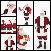 Santa Clauses — Stock Photo