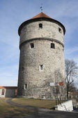 Medieval tower, Tallinn — Stock Photo