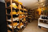 Ser na półkach — Zdjęcie stockowe