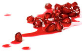 Juicy pomegranate fruit — Stock Photo