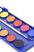 Colorful water Paints — Stock Photo