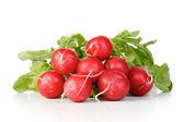 Fresh ripe raddishes — Stock Photo