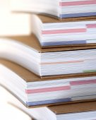 Note books in stack — Стоковое фото