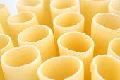 Cannelloni raw pasta — Stock Photo