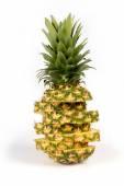 Fresh ripe  pineapple — Stock Photo