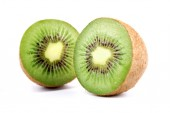 Fresh  halved kiwi — Stock Photo