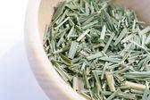 Lemon grass in bowl — Stock Photo