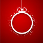 Paper christmas ball.  — Stock Vector #54363257