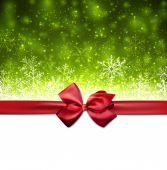 рождественский зеленый абстрактный фон. — Cтоковый вектор