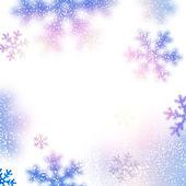 Snow christmas background. — Stock Vector