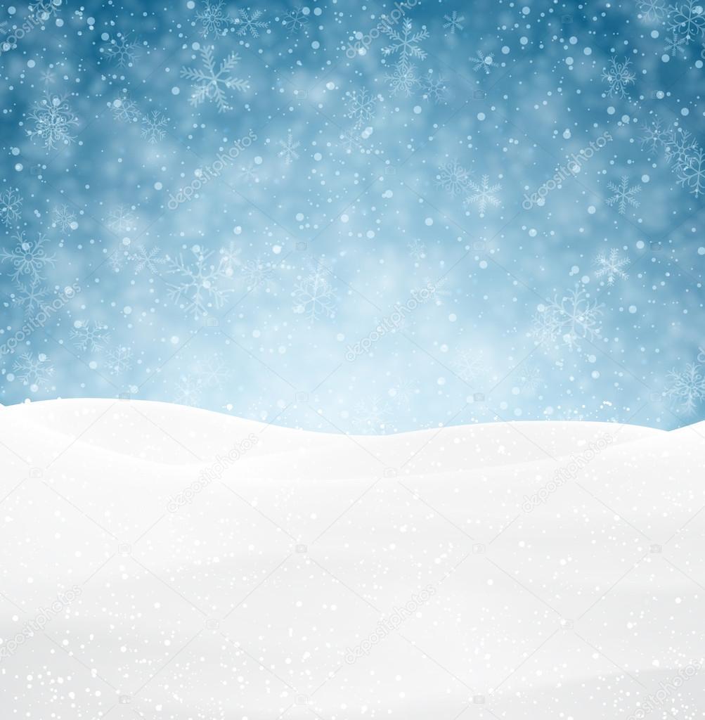 圣诞节下雪背景 — 图库矢量图像08