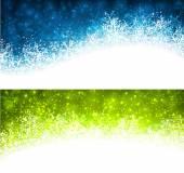 圣诞节抽象的横幅广告. — 图库矢量图片
