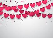 Love party celebration background.  — Stock Vector