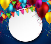 Party celebration background.  — Stock Vector