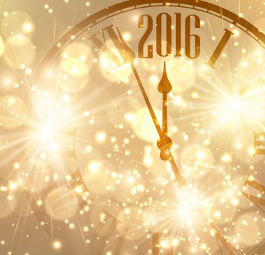 2016 New Year background