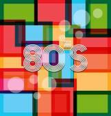 80's Art Background style — Stockvektor