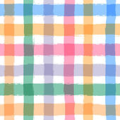 いくつかのストライプと水彩の色の背景 — ストックベクタ