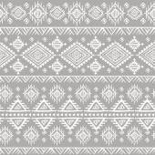 Tribal vintage ethnic seamless — Vector de stock
