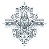 Tribal ethnique vintage — Vecteur