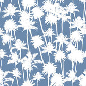 Vector Palm trees seamless pattern — Stock Vector