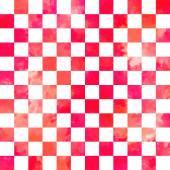 Watercolor vector geometric seamless pattern — Stockvektor