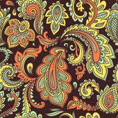 Patrón sin costuras floral hermoso — Vector de stock