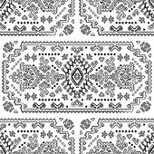 Tribal Mexican vintage ethnic seamless pattern — Stock Vector
